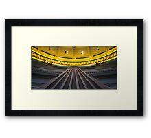 Pillar Of Society Framed Print