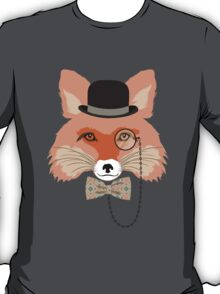 Fashion Animals - Foxy Fox | artwork by Olga Angelloz T-Shirt