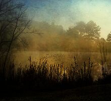 Edge of the Autumn Lake by PineSinger