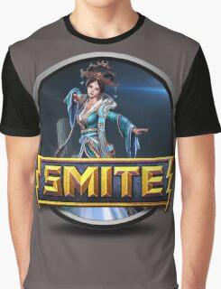 Smite Chang'e Logo Graphic T-Shirt