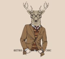 Fashion Animals - Stag Chic  | artwork by Olga Angelloz by ccorkin