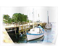 Fishing Wharf Poster