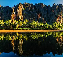 Windjana Gorge by Jan Fijolek