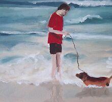Beach Dog by KeLu