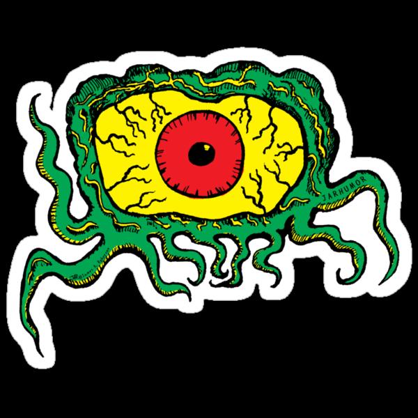 Crawling Eye Monster by jarhumor