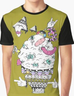Monster Ice Cream  Graphic T-Shirt