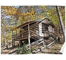 Log Cabin In The Hills Poster