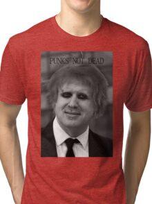 Punk Boris Johnson Tri-blend T-Shirt