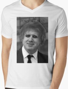 Punk Boris Johnson Mens V-Neck T-Shirt
