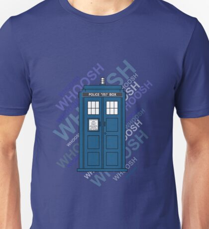 Tardis Whoosh sound Doctor Who Unisex T-Shirt