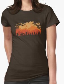 Nine Companions Womens Fitted T-Shirt