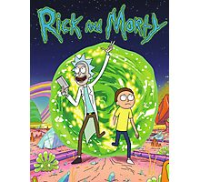 Rick and Morty Series Movie  Photographic Print