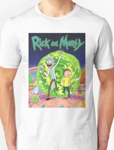 Rick and Morty Series Movie  T-Shirt