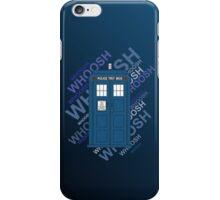 Tardis Whoosh sound Doctor Who iPhone Case/Skin