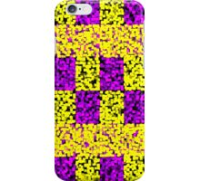 Mosaic - Purple and Yellow iPhone Case/Skin