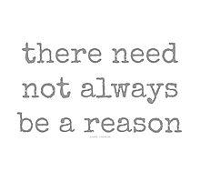 reason~ Photographic Print
