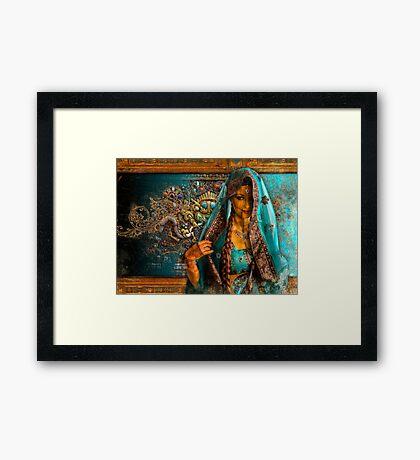 Priya Framed Print