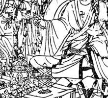 Silk Road Buddha Sticker