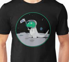 Space Dino Moon Unisex T-Shirt