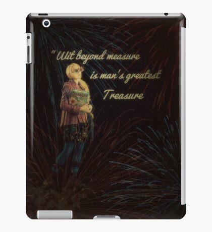 Luna Lovegood With Quote iPad Case By MyLittleFandoms iPad Case/Skin