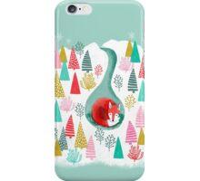 Winter's Fox by Andrea Lauren  iPhone Case/Skin