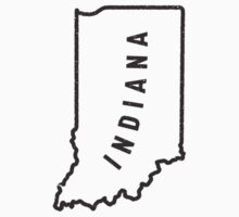 Indiana - My home state Kids Clothes