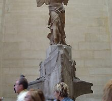 Winged victory of samothrace-Louvre Paris by Desaster
