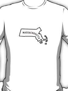 Massachusetts - My home state T-Shirt