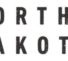 North Dakota - My home state Sticker