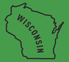 Wisconsin - My home state Kids Clothes