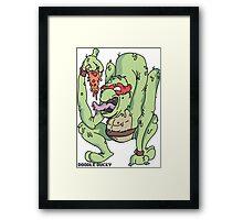 Teenage mutant hero turtles Framed Print