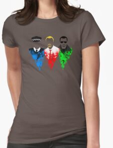 Three Flavours Cornetto Womens Fitted T-Shirt