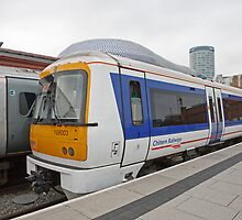 A Chiltern Railways train at Birmingham Moor Street  by Keith Larby