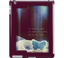 Spirit of the Butterfly iPad Case/Skin
