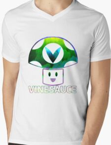 Vinesauce Glitch [UNOFFICIAL] Mens V-Neck T-Shirt