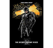 Detroit Knight Rises Photographic Print