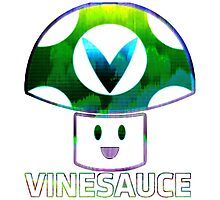 Vinesauce Glitch [UNOFFICIAL] Photographic Print