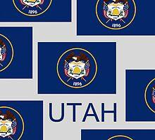 Smartphone Case - State Flag of Utah V by Mark Podger