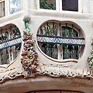 Artistic windows in Palma de Mallorca - Spain by Arie Koene