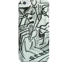 Musical party iPhone Case/Skin