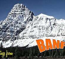 Banff national park Alberta by leksele