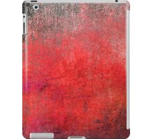 Abstract Wild Red iPad Case Retro Cool New Grunge Texture Vintage  iPad Case/Skin