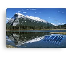 Rockies Mountains  Canvas Print