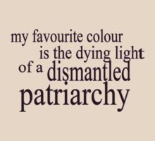A Feminist's Favourite Colour by sarcasmlock