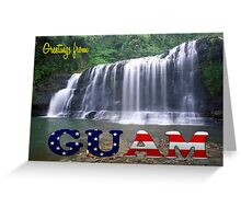 Greetings from Guam Greeting Card
