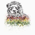 Reggae Lion- black by Dream-life