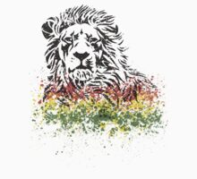Reggae Lion- black by Dream-life