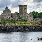 The Abbey at Inchcolm by Tom Gomez