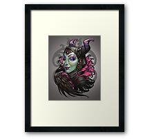 Mistress of Evil Framed Print