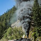 Black Smoke, 480 Chugging Uphill by rjcolby